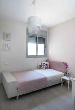 עיצוב חדר שינה ילדה