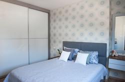 עיצוב מודרני חדר שינה הורים