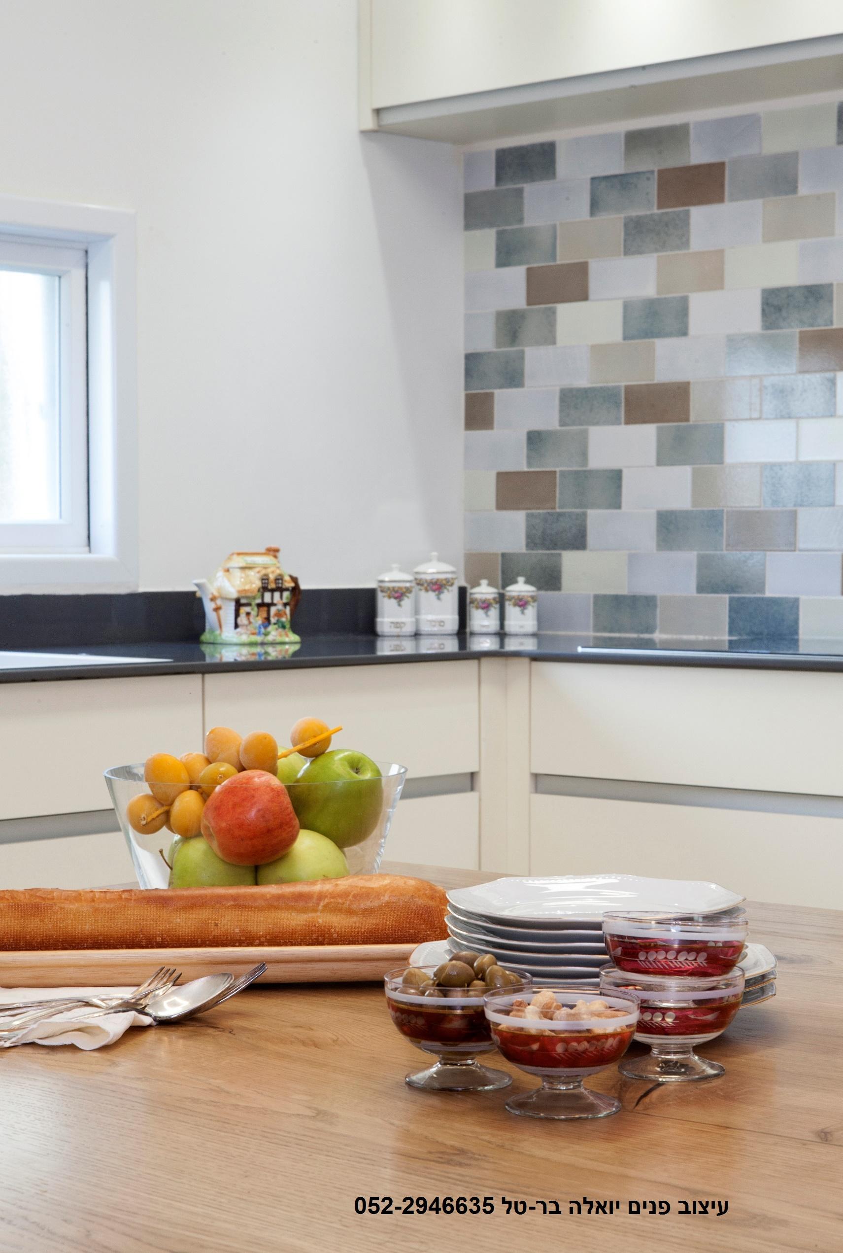 עיצוב מטבח מודרני לדירה ברחובות