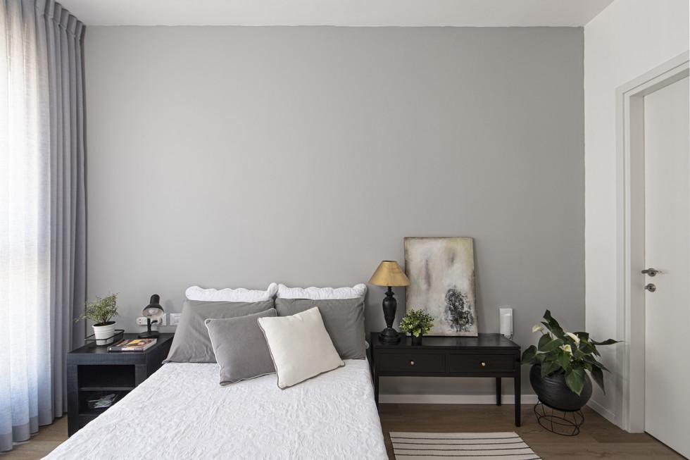 עיצוב חדר שינה בדירה שכורה