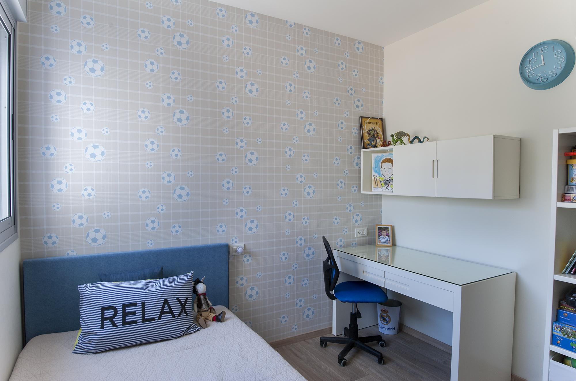 עיצוב חדר שינה ילדים