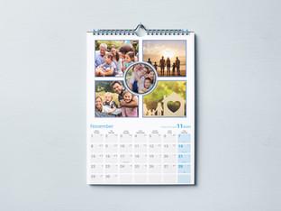 לוח שנה משפחתי לתליה