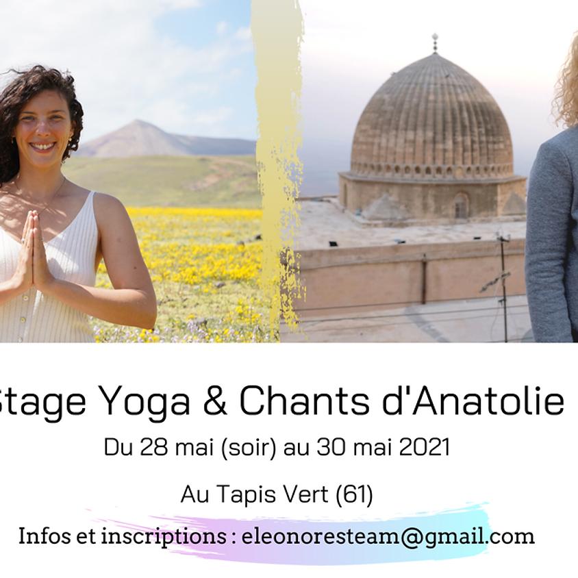 28 mai 30 mai Stage de Yoga et Chant  Eléonore Fourniau et Lea Yogalaia