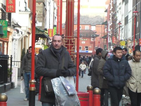 J-F Deboulle à Chinatown - Londres