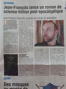 Article La Meuse Namur J-F Deboulle