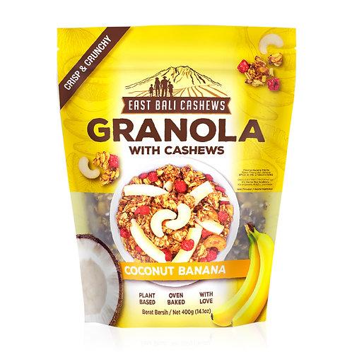 Coconut Banana Granola