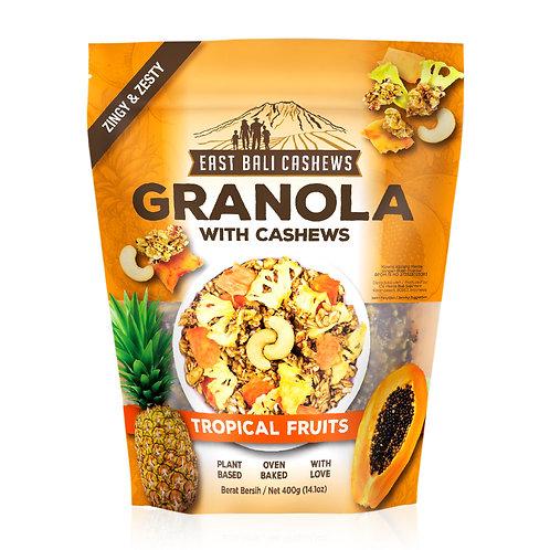 Tropical Fruits Granola
