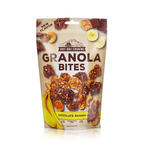 Chocolate Banana Granola Bites