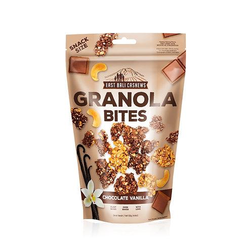Chocolate Vanilla Granola Bites