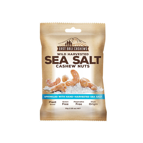 SEA SALT CASHEW NUTS