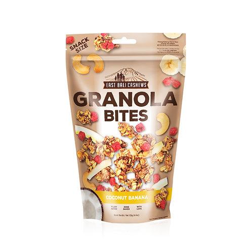 Coconut Banana Granola Bites