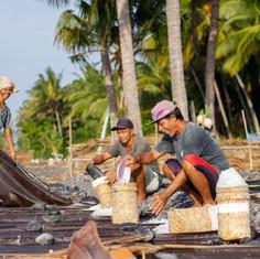 Sea Salt Farmer