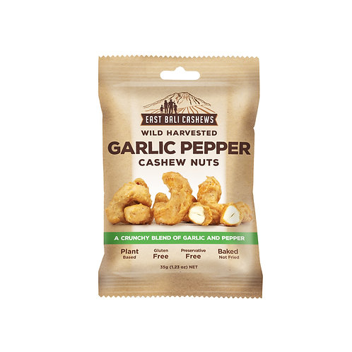 GARLIC PEPPER CASHEW NUTS