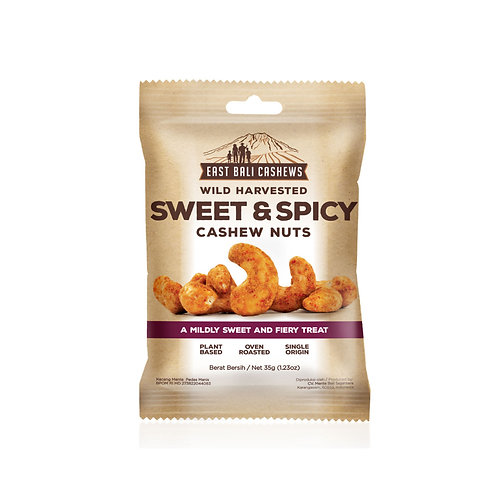 Sweet & Spicy Cashew Nuts