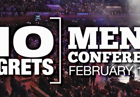 No Regrets Mens Conference