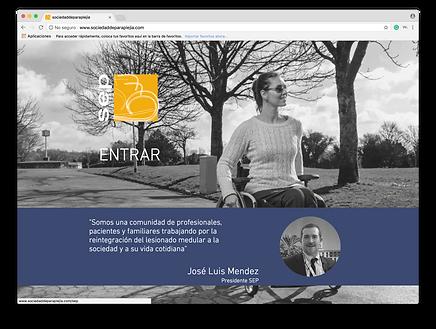 Diseño Web para sociedad Médica SEPç