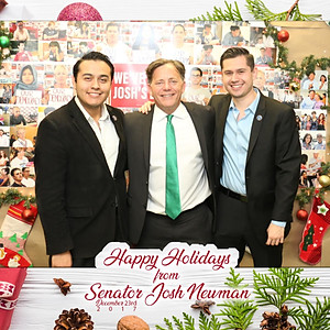 Senator Josh Newman (SD-29th) Holiday Party