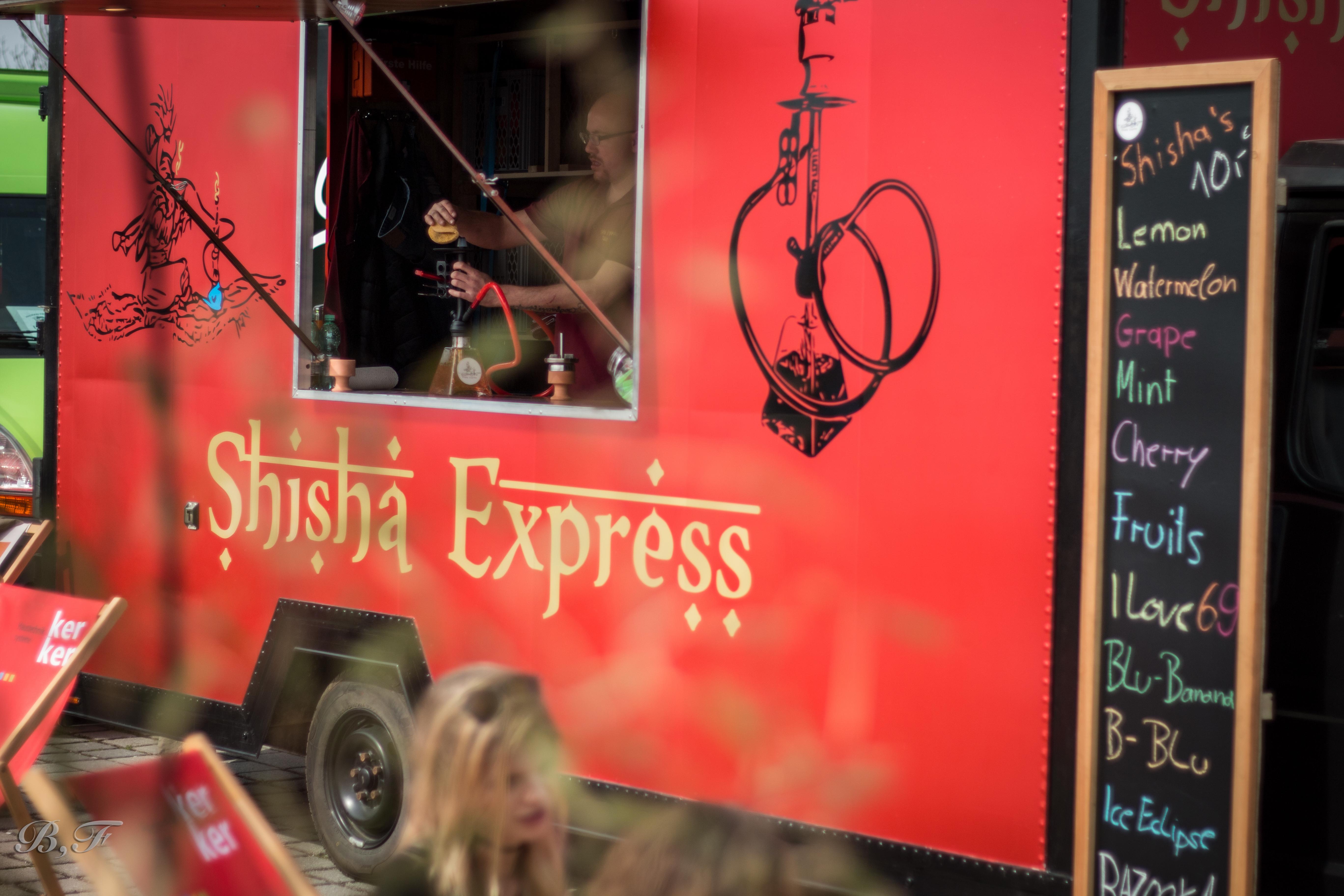 Shisha Express Truck