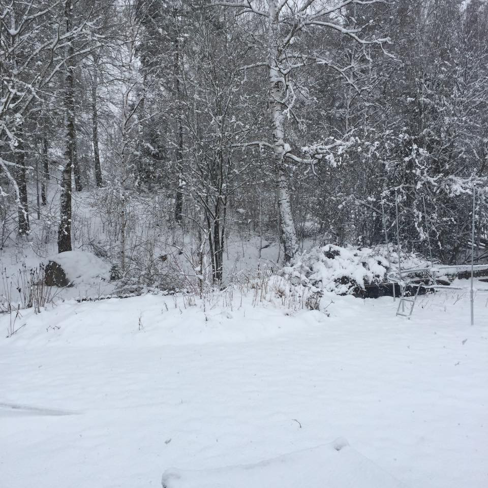 Spring weather in Sweden