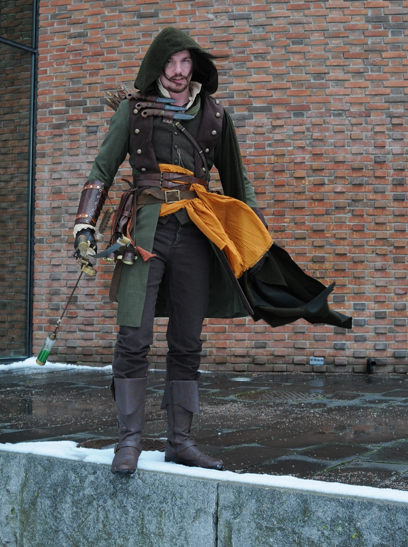 Steampunk Robin Hood at SilwerSteam