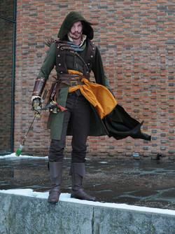 Steampunk Robin Hood at SilwerSteam