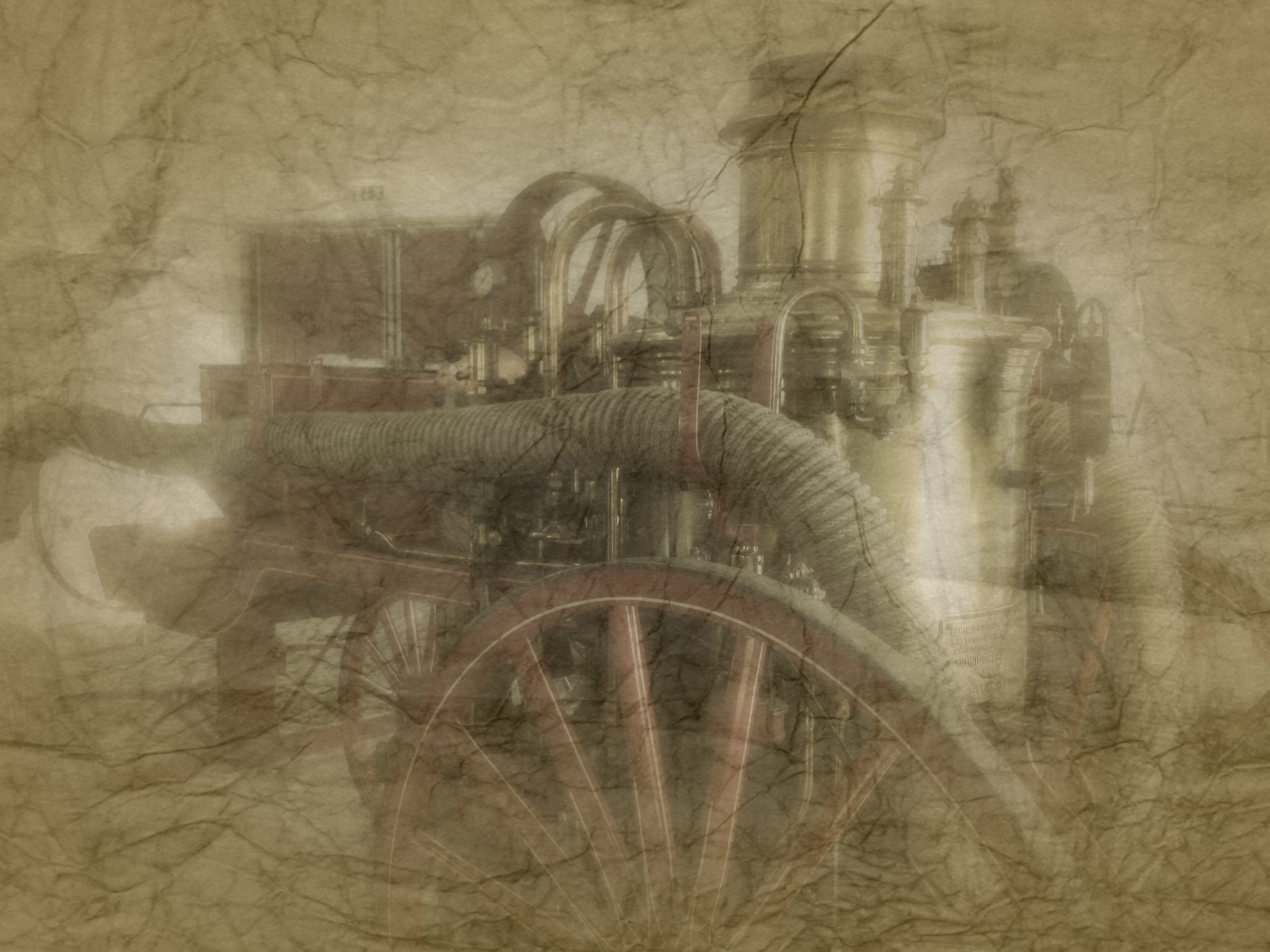 SilwerSteam steampunk steam engine 3
