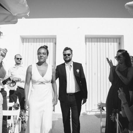Eva & Brice, wedding in Paros!!!