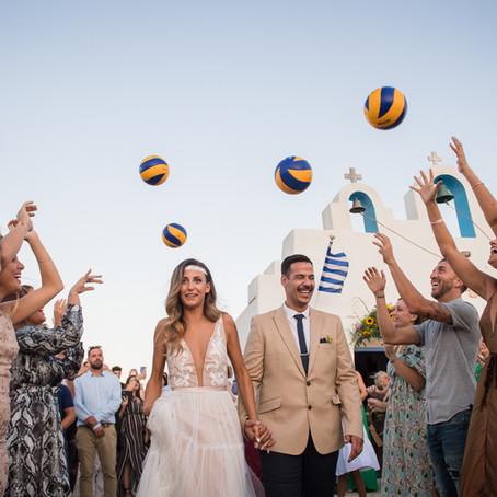 Sofia & Stavros, wedding in Paros!!!