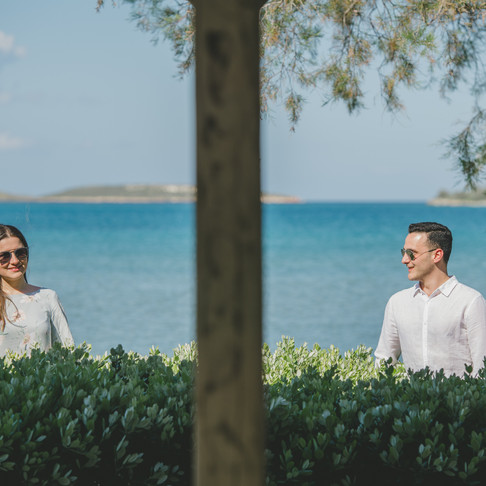 Pre-wedding photoshoot in Paros