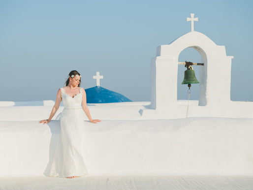 Ioanna & Eugenios, wedding in Paros