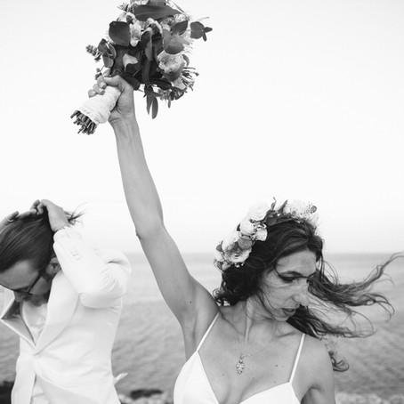 Alexandra & Justin, wedding in Antiparos.