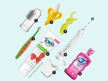 Age-appropriate dental tools