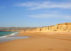 Where the sea kisses the desert!