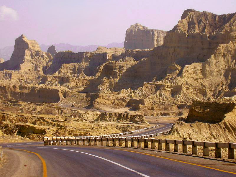 View of Makran coastal highway!