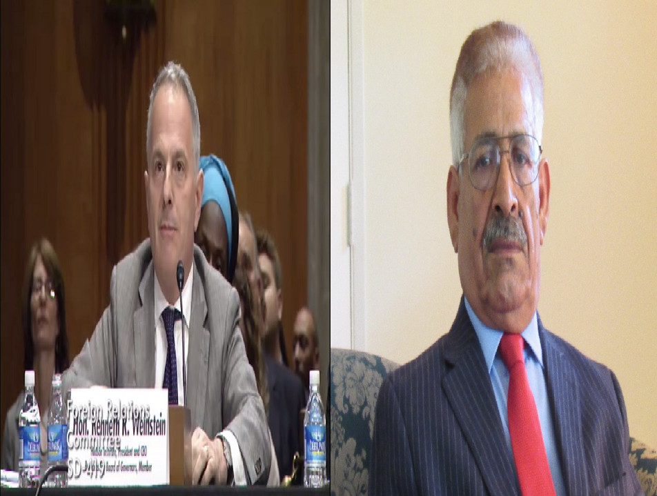 American-Baluch Council's letter to The Honorable Kenneth WeinsteinChairman of The Broadcasting