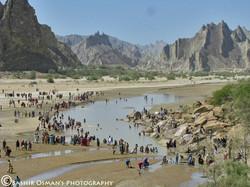 Hindu's sacred river – Hingol