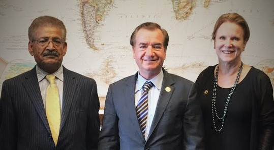 Meeting between the honorable Ed Royce, the chairman of the Foreign Relations Committee of the US Ho