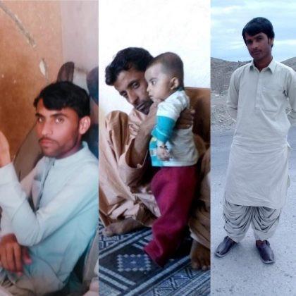 From L to R: Haneef Murad, Hameed Murad, Hafeez Murad. Photo: BHRO