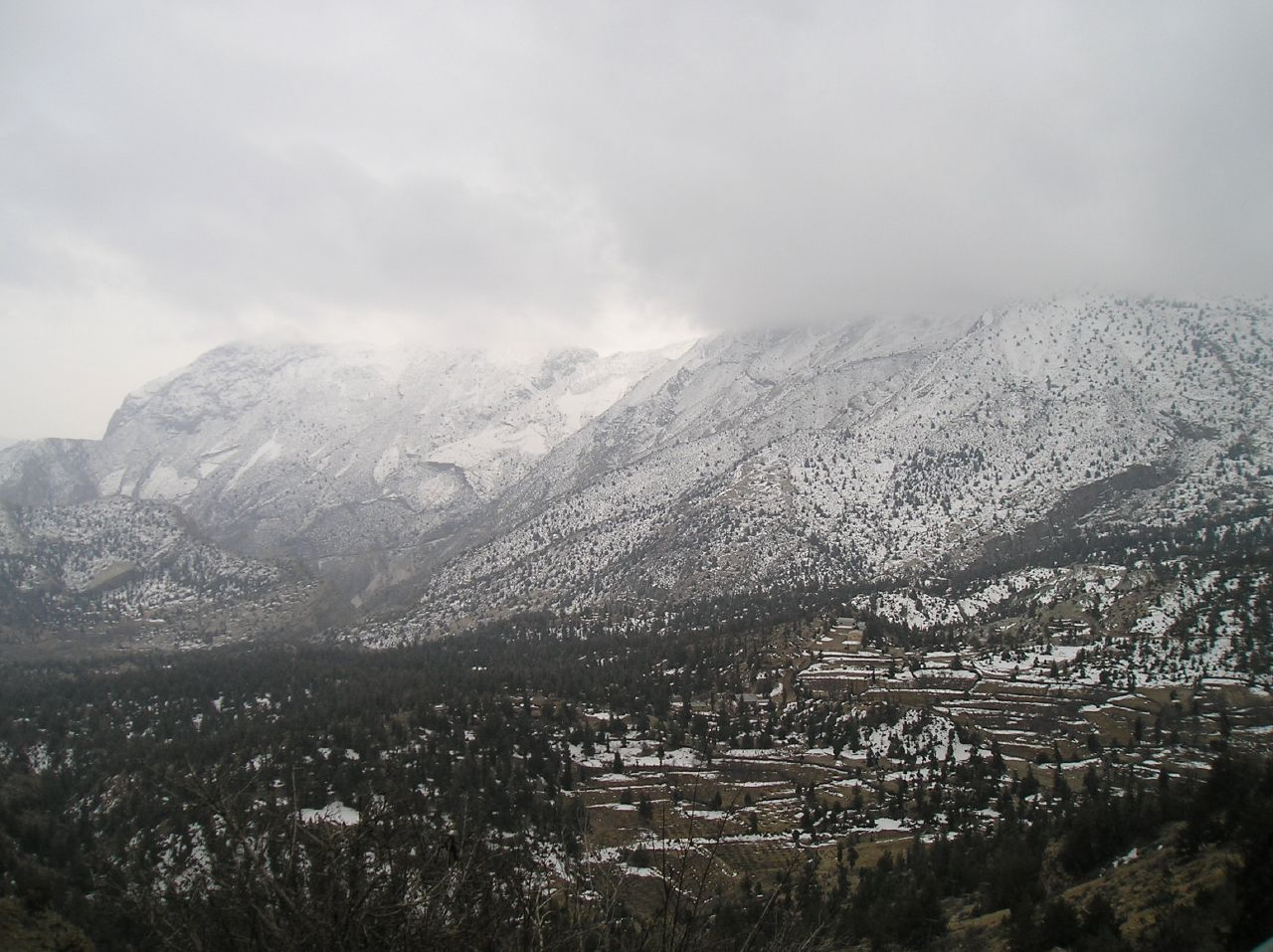 Ziarat in the winter