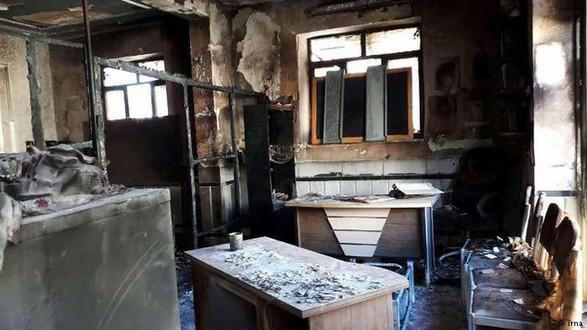 مرگ دو کودک در پی وقوع آتشسوزی در یک پیشدبستانی در زاهدان