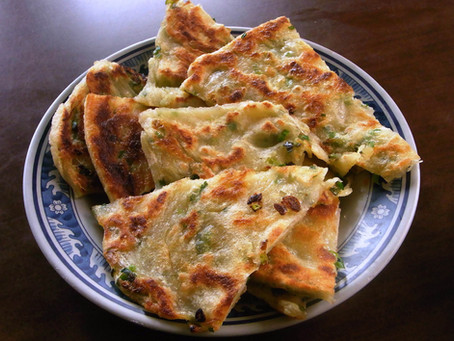 Vegan Taiwanese Scallion Pancakes