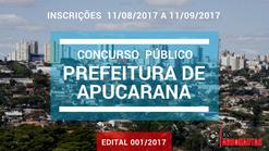 Concurso Autarquia Municipal de Saúde de Apucarana/PR