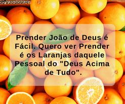 A justiça e as laranjas