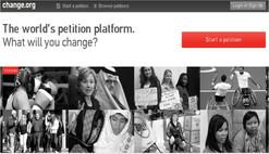 Change.org, o poder da internet para espalhar esperança   pelo mundo