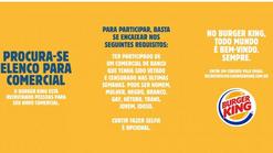 Burger King está recrutando os atores do comercial do BB rejeitado pelo Bolsonaro