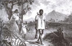 A lenda de Onaiab Orietehlib o guerreiro da sorte Apuká.