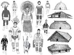 O corpo e os rituais dos Apukás