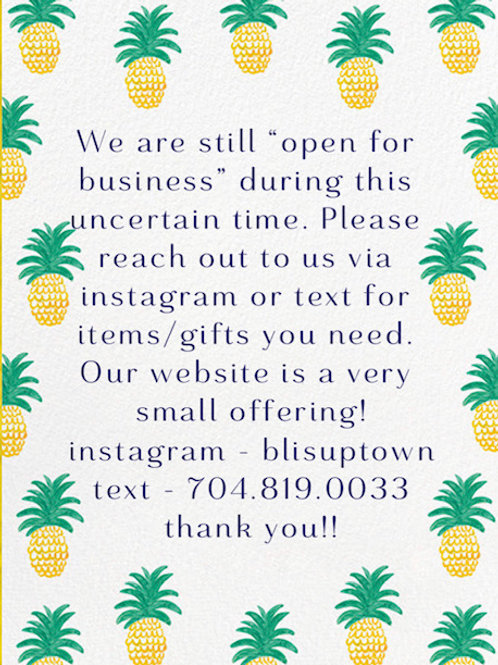 Thank you for shopping with small businesses!