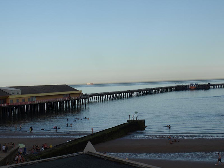 View of the pier from Daisy chain