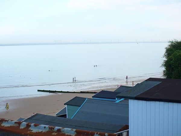 View of the beach from Daisy chain